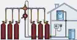 газ на дачу в газовых баллонах